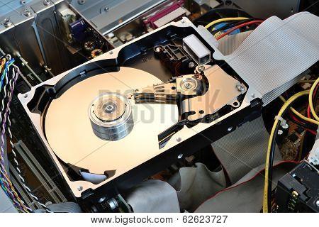 Hard Disk Opened
