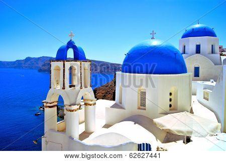 Classic Greek scene