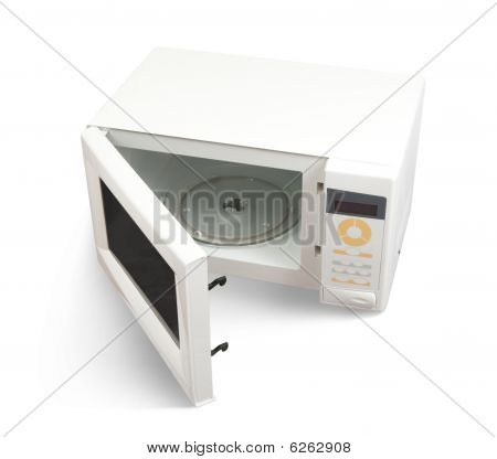Mini Oven Over White