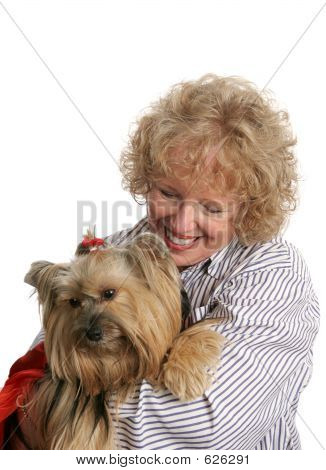 Affectionate Pet Owner