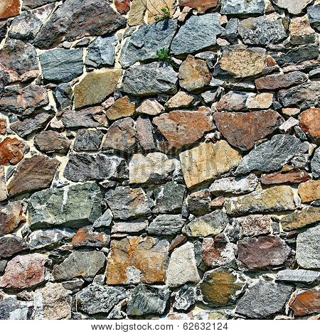 Texture Of The Stone Wall For Background