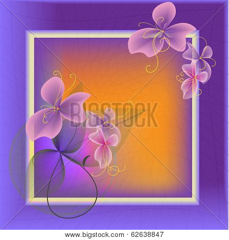 Purple Frame
