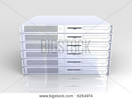 19-Zoll-Server-stack