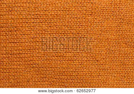 Orange Wool Knitwork