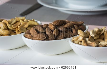 Almonds,nuts And Cashew