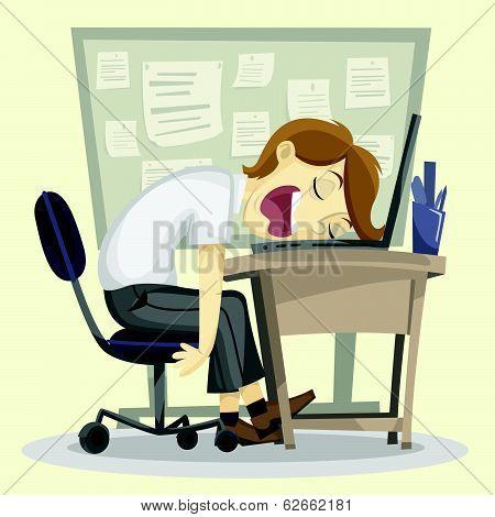 Lazy Employee