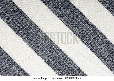 Ecru fabric in gray stripes, a background
