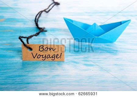 Ship With Bon Voyage Label