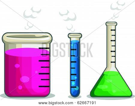 Laboratorium Chemical Flask