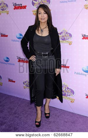 LOS ANGELES - NOV 09:  Ming-Na Wen arrives to the