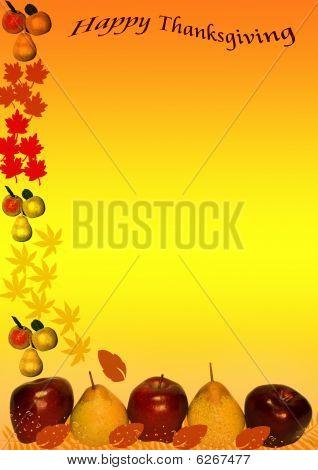 Happy Thanksgiving Border