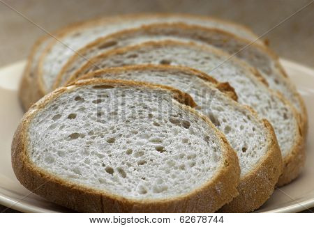 Sliced Wheaten Bread