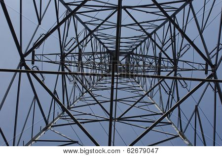 Pole Of High Tension