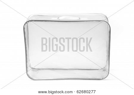 Transparent Plastic Suitcase