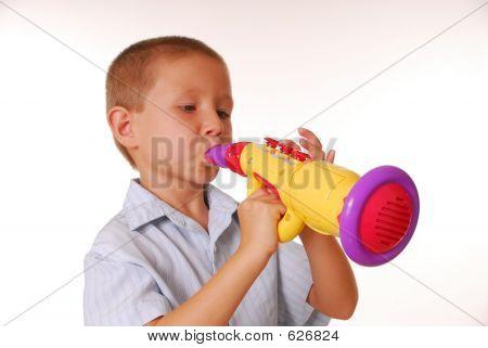 Boy Musician 4