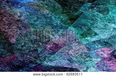 mosaic cubism grunge texture