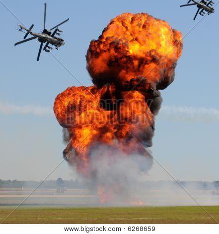 Giant Ground Explosion