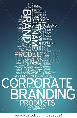 Word Cloud Corporate Branding