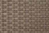 textured surface of interlaced nylon strings
