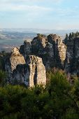 picture of bohemian  - Beautiful rocks in Bohemian Paradise - JPG