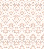 foto of doilies  - White Lace Seamless Pattern on warm pink Background - JPG