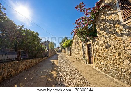 Old Stone Steets Of Stari Grad