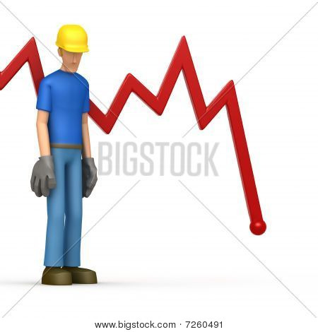 Builder With Red Diagram