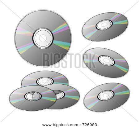 DVDs Or CDs