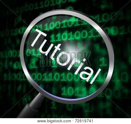 Tutorial Magnifier Represents Online Tutorials And Development