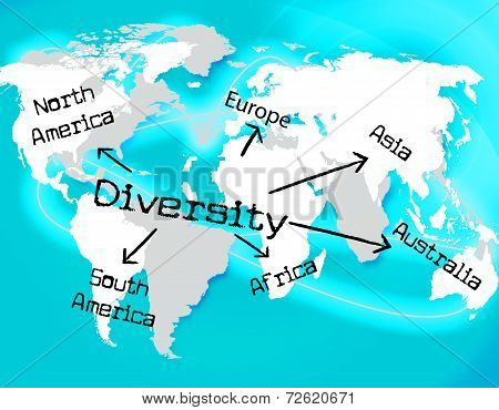 World Diversity Indicates Mixed Bag And Earth