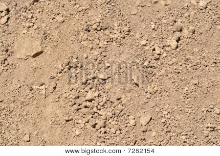 Dry Lakebed Landscape