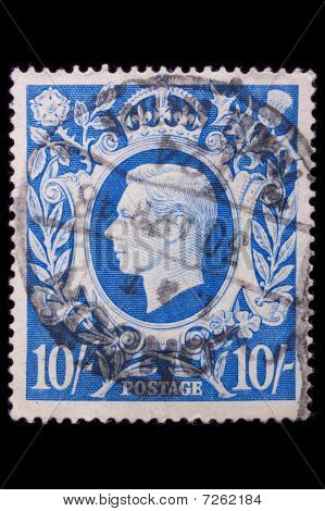 Vintage Great Britain Postage Stamp