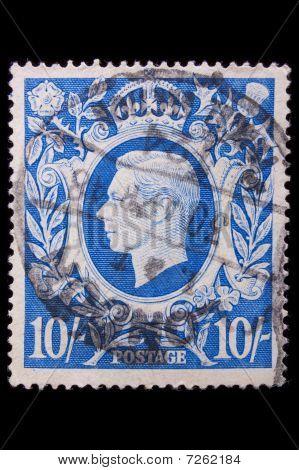 Vintage Great Britain Postage Stamp