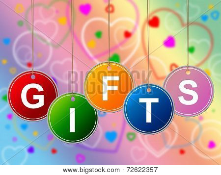 Gift Gifts Represents Greeting Surprises And Celebrate