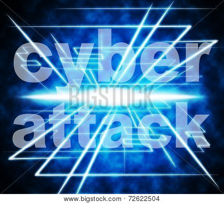 Cyber Attack Shows World Wide Web And Criminal