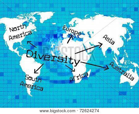 World Diversity Indicates Mixed Bag And Variation