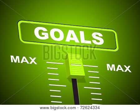 Goals Max Shows Upper Limit And Maximum
