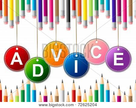Advisor Advice Indicates Tips Info And Instructions