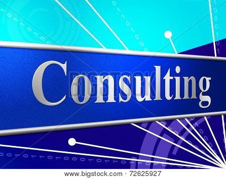 Consult Consulting Means Seek Advice And Confer