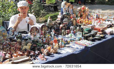 Seller Of Souvenirs