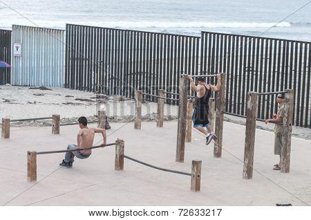 Beach Gym