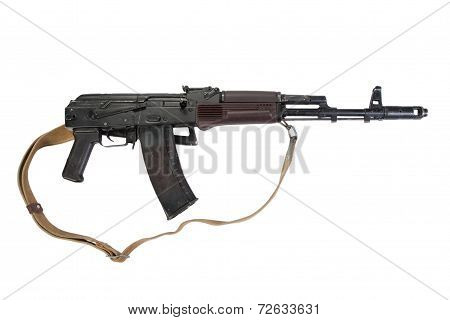 Aks 74 Isolated On A White Background
