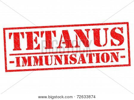 Tetanus Immunisation