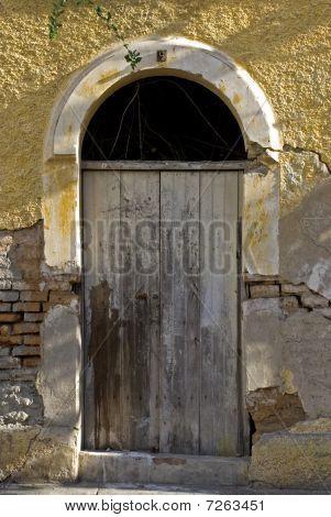 Old Mexican Colonial Entrance Door
