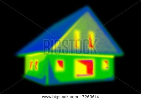 Thermografie Haus B