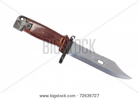 Bayonet Isolated On White Background