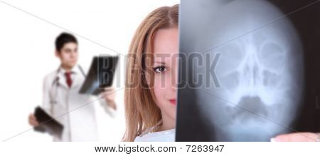 Caucasian Female Doctor