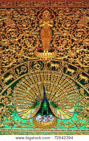 Fine art of Thai temple