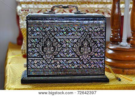 Thai ancient fine art baggage