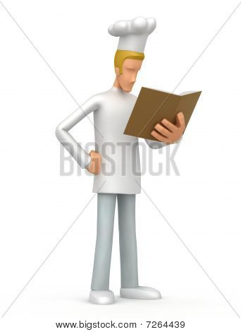 Chef With Book